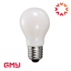 A19 milky white led filament bulb dimmable UL FCC vintable bulb for light fitting led lamp
