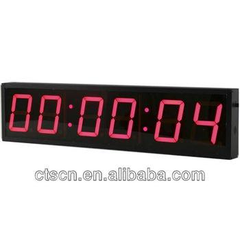 cta003 digital interval timer gym timer crossfit