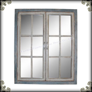 Antique Mirror Glass Wooden Window Mirrors Buy Antique Mirror Glass Wooden Window Mirrors Window Shape Mirrors Product On Alibaba Com