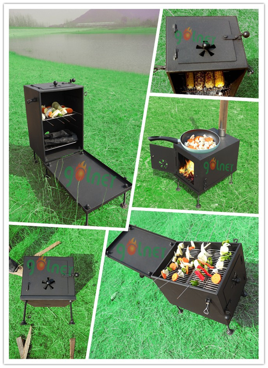 C-14 camping wood stove/outdoor oven camping stove/wood burning stove - C-14 Camping Wood Stove/outdoor Oven Camping Stove/wood Burning