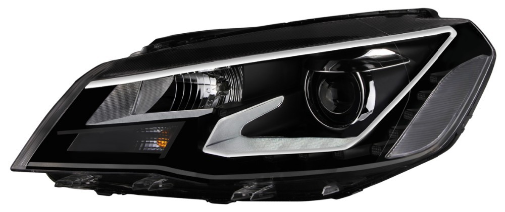 Bi-xenon hid headlight for volkswagen Jetta 2013-2014 with angle eye