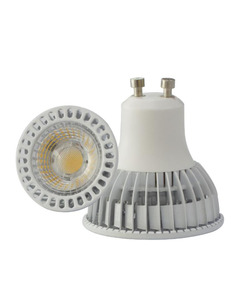 7W COB GU10 MR16 spotlight aluminium LED cup light bulb e27 lights 3000k china