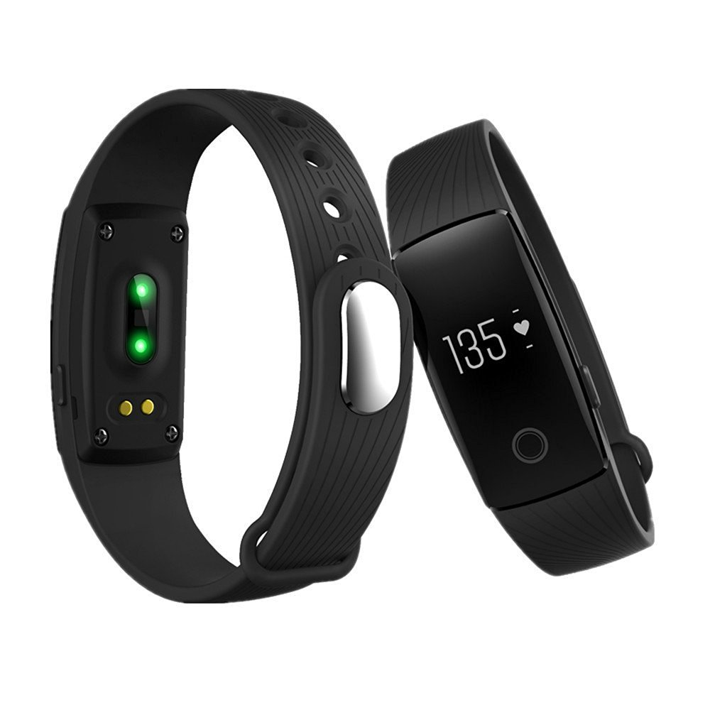 Sansnail ID107 Bluetooth Smart Bracelet smart band Heart Rate Monitor Wristband Fitness Tracker remote camera for Android iOS