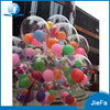 Big And Round Clear Balloon With Various Small Latex Balloon For Party Decoration