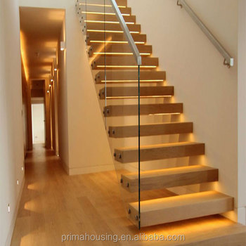 Modern Glass Folding Stairs /glass Floating Staircase / Build Wood Floating  Staircase   Buy Modern Glass Stiarcase,Glass Folding Stairs Design,Build ...