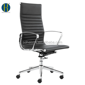 Prime Good Selling Black Style Thin Pad Computer Reception Faux Leather Office Chair Buy Office Chair Computer Reception Chair Heated Office Chair Product Machost Co Dining Chair Design Ideas Machostcouk