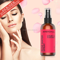 Wholesale Best Price Pure Organic Moroccan Rose Water Spray Natural Facial Toner