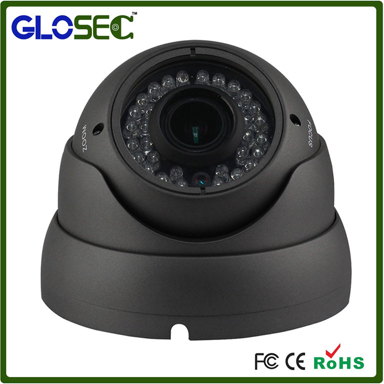 Black 1/4' Color CMOS Sensor Auto Focus 2.8-12mm Len Network CCTV Home Camera