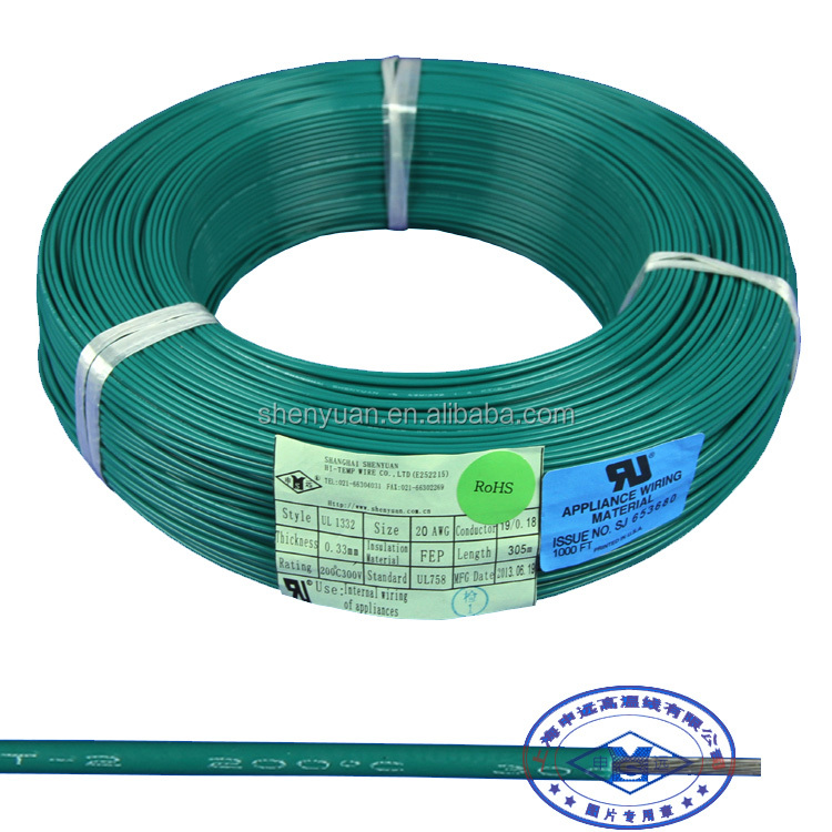 Ul1332 Fep Electric Wire, Ul1332 Fep Electric Wire Suppliers and ...