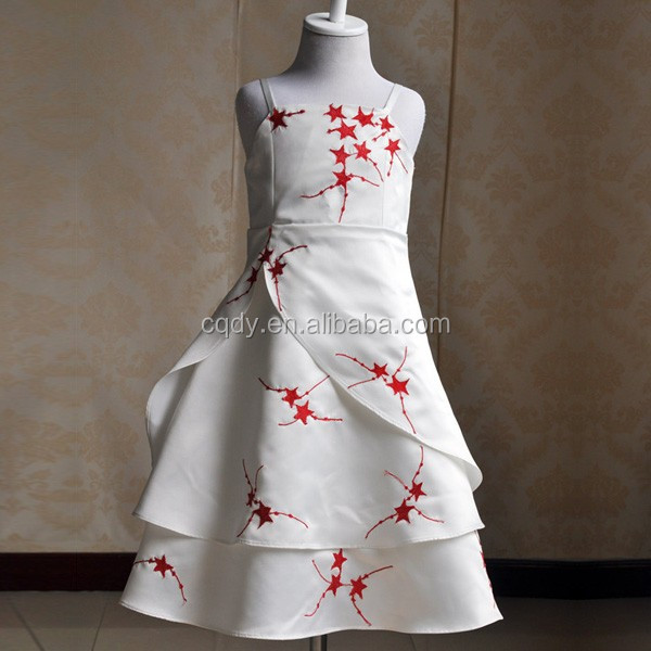2017 Latest Embroidery Long Frocks Designs Children Party Princess Frock For Age S Robe Demoie Dhonneur New Design