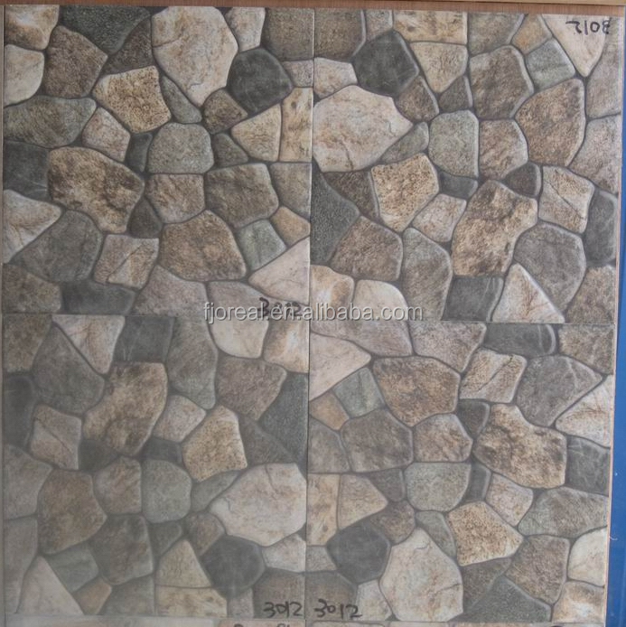 300x300mm China Facory Grey High Quality 3d Stone New Model Floors ...