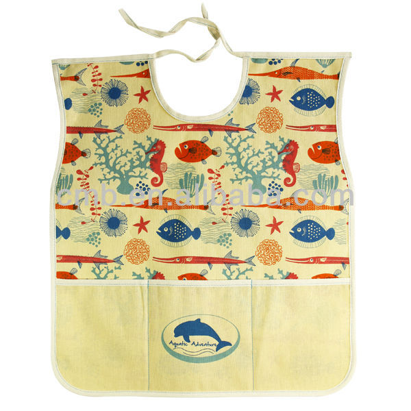 Full Body Natural Kids Apron