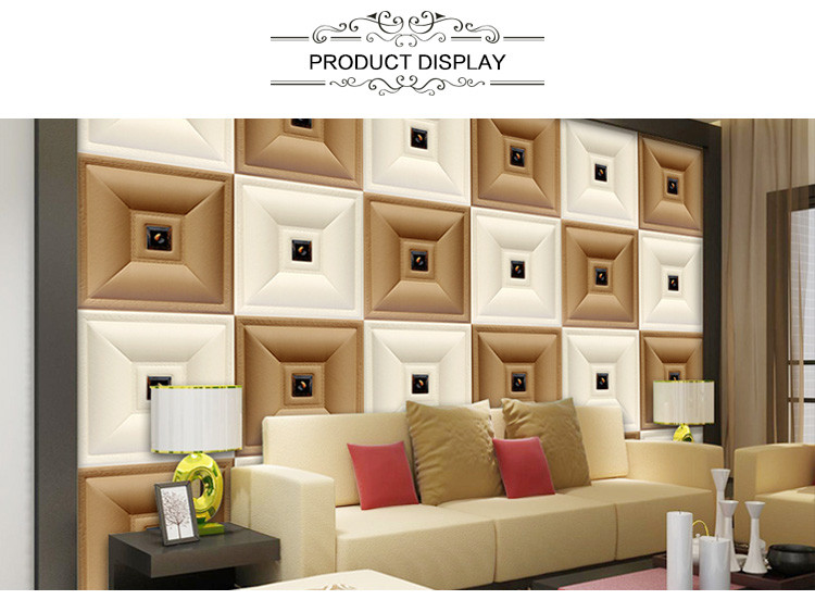 Waterproof PVC 3d Ceiling Decorative 3d Panel PVC Wall Panels For Bedroom  TV Background Faux Leather. Waterproof Pvc 3d Ceiling Decorative 3d Panel Pvc Wall Panels For