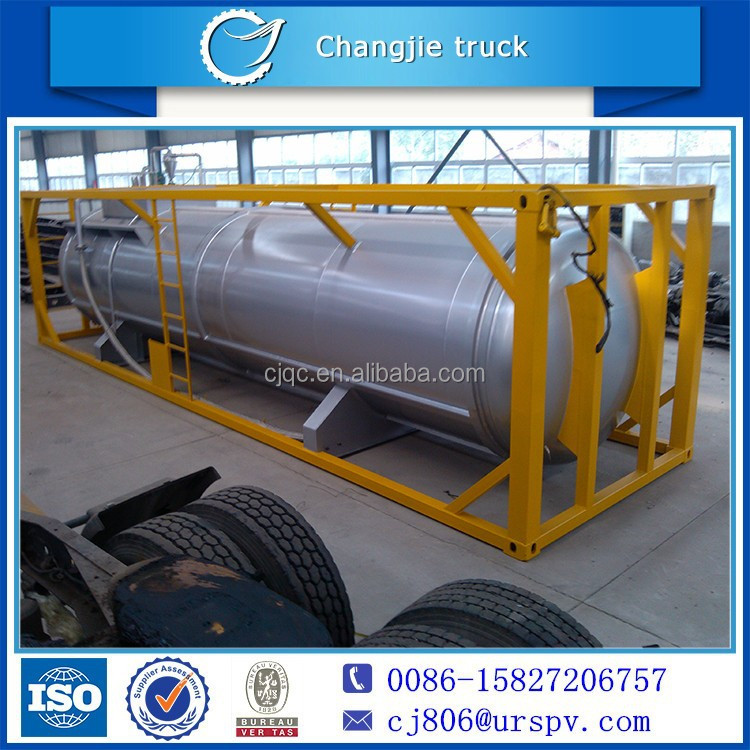 DTA tank container for yellow phosphorus transportation tank Truck Trailer factory supplier