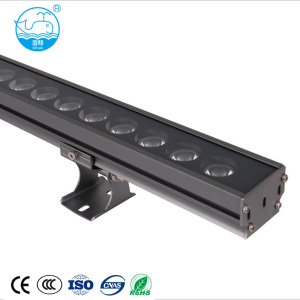 Outdoor 10W 15W 18W 24W 28W rgbw ip65 led wall washer lighting lamp