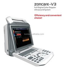 ZONCARE-V3 Portable Digital color Doppler ultrasound machine with CE