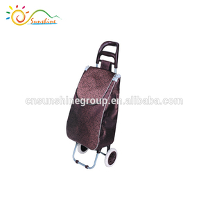 External carry-on foldable hand grocery packing shopping cart for sale