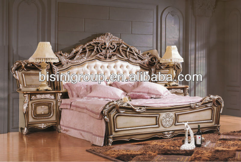 Bisini Royal Ornate Tufted Bed King Size Bed French Style Bf11-0222b - Buy  King Size Bed,Tufted Bed,French Style Bed Product on Alibaba.com
