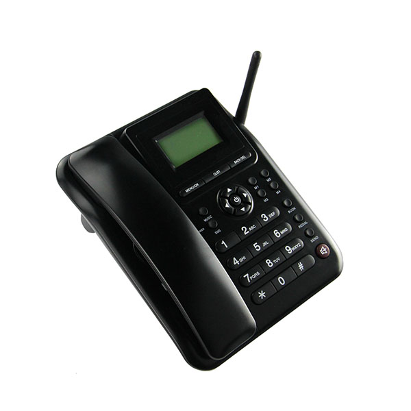 China cheap landline phone with sim card
