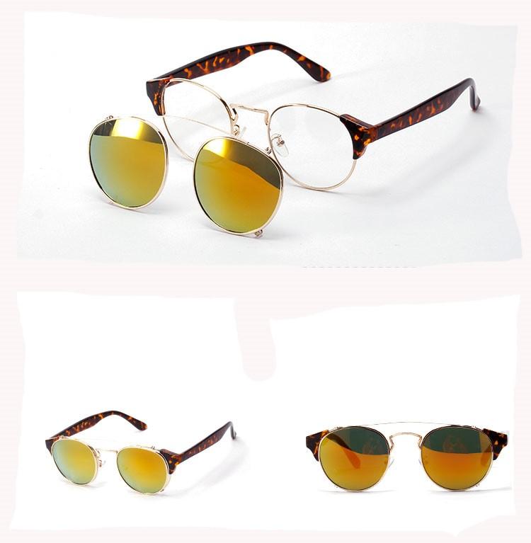 S Noir Couleur De La Monture et Verres Polarisés Attribut Optique jaune  clip sur les lunettes 16368e9f47b2