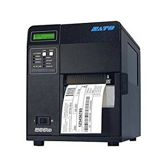 "Sato WM8420211 Series M84PRO Industrial Thermal Printer, 203 dpi Resolution, 10 ips Print Speed, Parallel Interface with Dispenser, DT/TT, 4.1"""