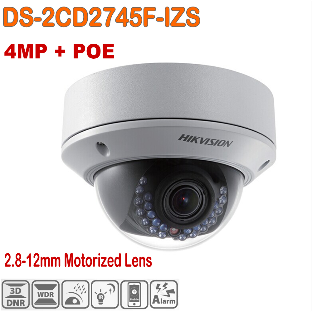 hikvision 4mp dome ip camera video surveillance cameras ir security cctv poe camera ip outdoor. Black Bedroom Furniture Sets. Home Design Ideas