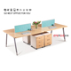 4 Person Used Cell Phone Repair Office Workstation With Low Price
