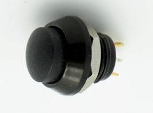 ONPOW 12mm Normally open Momentary Zn-Al Alloy Push button Switch Raisd head,pin terminal GQ12BH-10/J/N/A,IP65 CE, RoHS