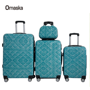 OEM Factory sales Brand design polycarbonate PC travel trolley luggage
