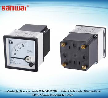 Supply Analog Panel Meter Sd-72 ( Kw),Analog Meter 96*96 72*72 48 ...