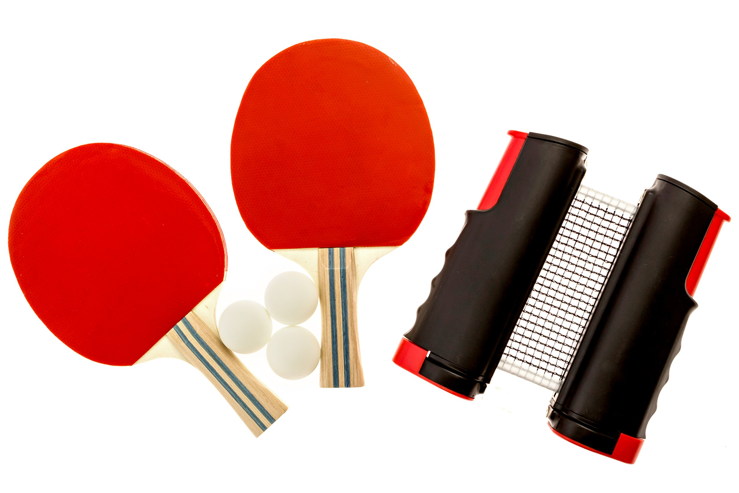 Endo Sports - Table Tennis Set - Ping Pong - Paddles - Table Tennis Net - Ping Pong Balls - Ping Pong paddle Set