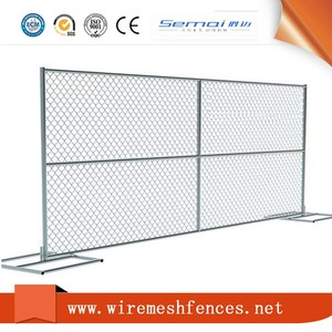 The United States 6x10 Chain Link Fence Panel With Diamond Mesh