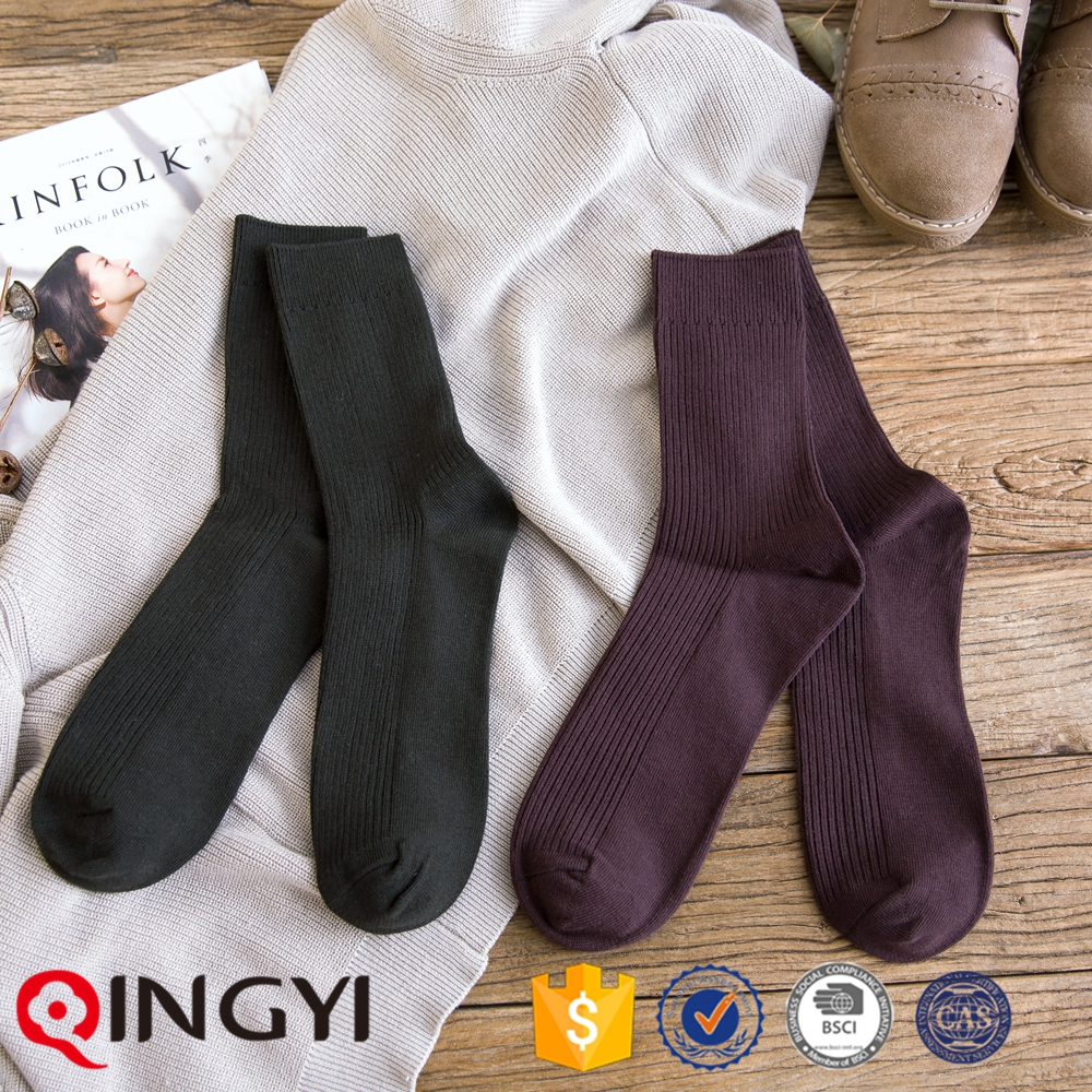 Double cylinder cotton mens ankle socks