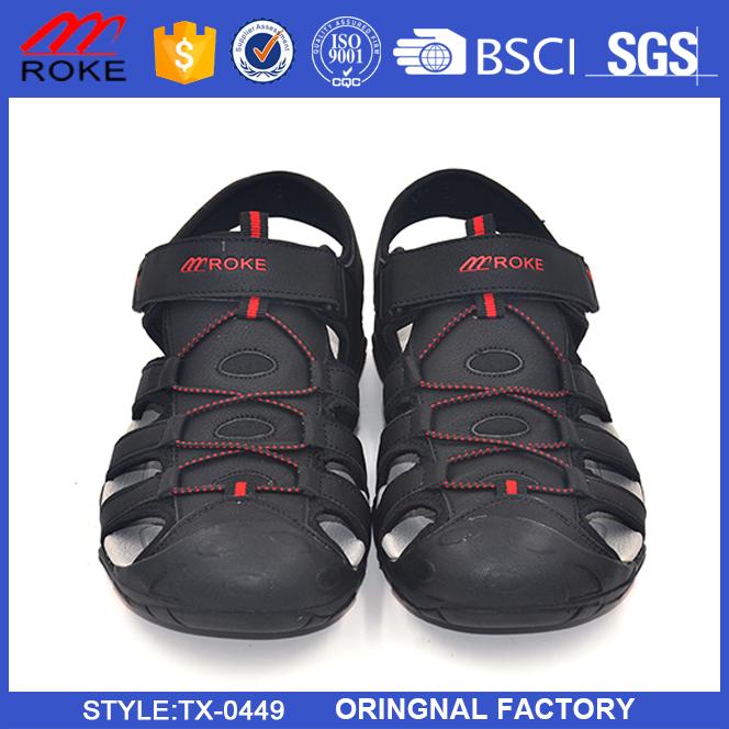 6205a7420bab ... Pánske sandále vonkajšie topánky Letné turistické športové sandále  topánky ...