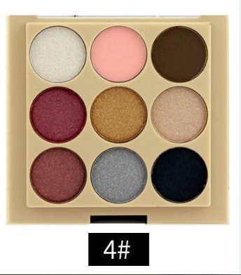 2016 the most popular glitter 9 colors shimmer <strong>eye</strong> shadow palette