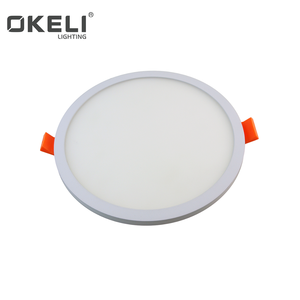 Okeli Brand Residential Led Lights IP44 IP 20 Trim less Panel Light Super Bright SMD2835 Project Recessed Ceiling Lights
