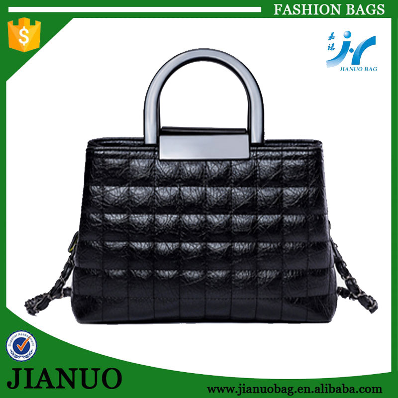 Designer branded handbags high quality synthetic leather handbag