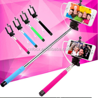 Extendable Handheld Stick Selfie Monopod For Iphone / Samsung / HTC Phone Camera