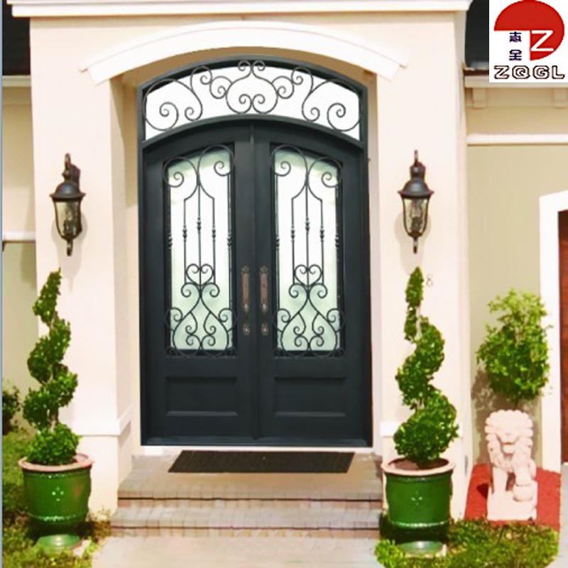 Front Door Wrought Iron Inserts