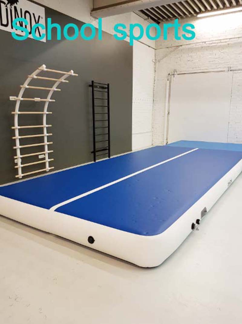 2017wholesale inflatable backyard gymnastics mat