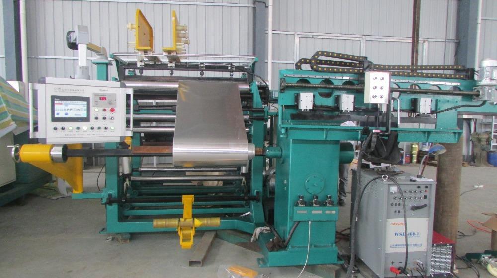 Double-layer digital transformer foil winding machine, power distributing equipments