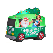 inflatable santa with camper wholesale inflatable santa suppliers alibaba