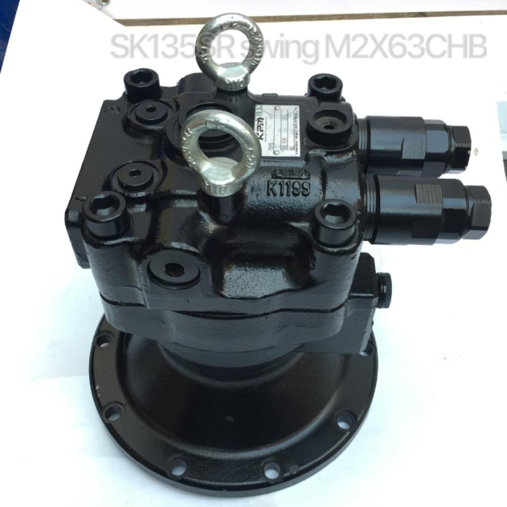 M2X120B-CHB-10A-61-250 swing motor swing device M2X120 swing motor assy EC210B swing motor assy