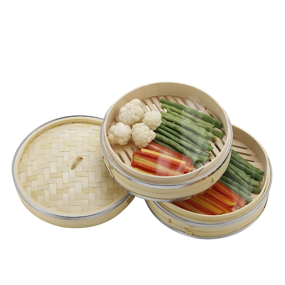 where to buy bamboo steamer basket