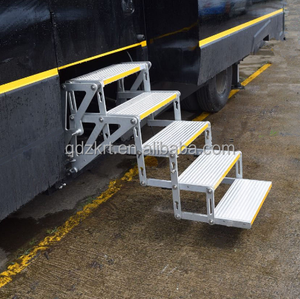 Durable Folding car accessories RV Ladder steps