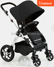 Color Changeable EN1888 ASTM Baby Doll 3 in 1 Stroller