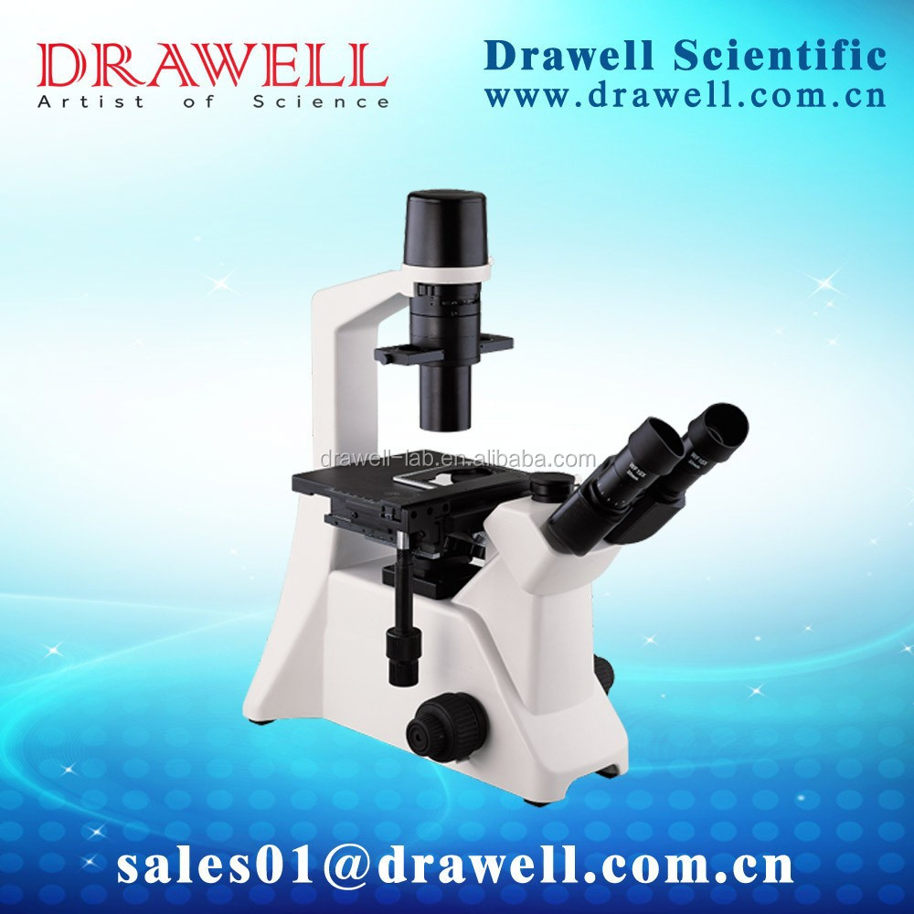 Trinocular Reversed optical microscope