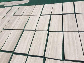 Pavimento del bagno mattonelle di marmo bianco pavimenti in