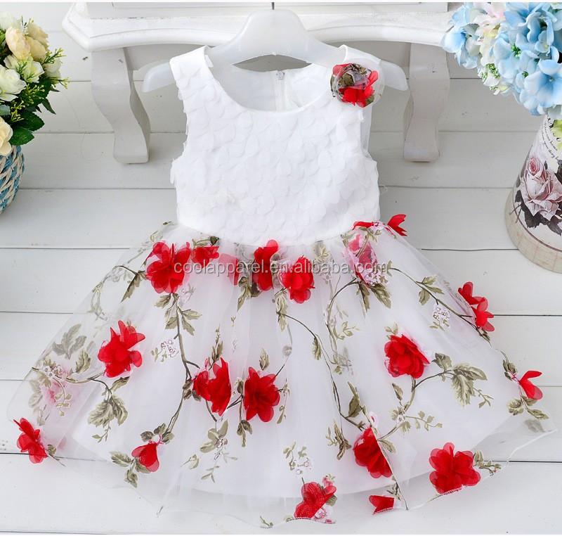 Baby Cotton Dress Design