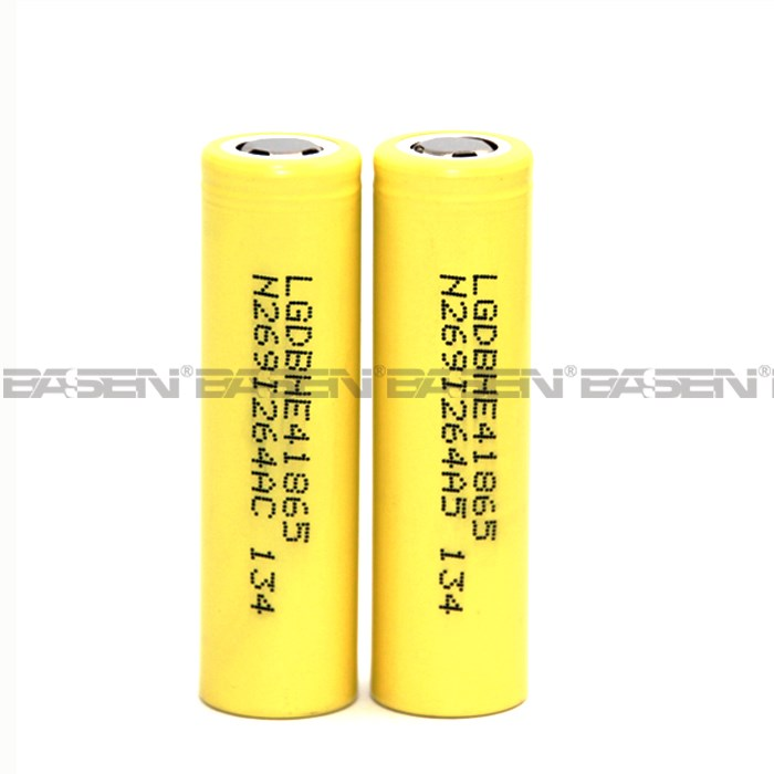 18650 LGhe4 35A rechargeable li-ion battery pk huanyu battery for provari mod